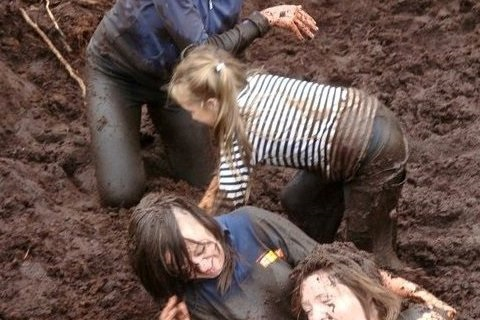 Messing in the mud